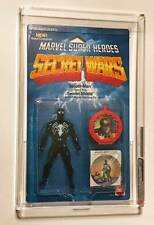 Marvel Super Heroes Secret Wars Spider-Man Black Costume AFA 85 Mattel 1985