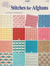 Crochet 101 Stitches for Afghans by Jean Leinhauser (1996, Paperback)