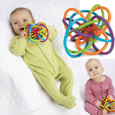 1pcs Infant Kid Baby Toddler Toy Winkel Sensory Puzzle Teether Activity Toy X5RG