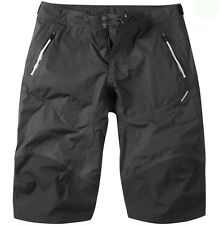 Madison Addict Mens Waterproof Baggy MTB Bicycle Bike Shorts Black Large