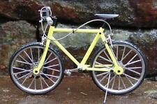 Miniature Yellow Mt Bicycle 1/10 scale