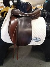 """Used Passier Grand Gilbert Dressage Saddle - Size: 17.5"""" - Brown"""