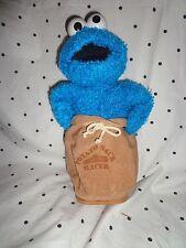 "Cookie Monster Potato Sack Racer Sesame Street 11"" Plush Soft Toy Stuffed Animal"