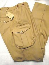 Filson 100% Cotton Field Cargo Pants NWT 34 x 34  $225 Made in USA Khaki Tan