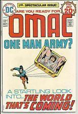 OMAC 1...VF...intro...Kirby cover&art...