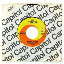 FRANK IFIELD Say It Isn't So/Don't Blame Me 7IN VG++