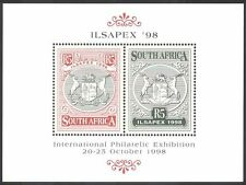 RSA/South Africa 1998 ILSAPEX/StampEx/Stamp Exhibition 2v m/s ref:s5645