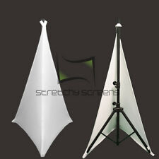 Spandex Speaker Stand Covers - Double Sided - 2 Pack! StretchyScreens.com