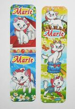 Marie Cat 2pcs Cardboard Bookmarks 6.5'' lenght (16cm).