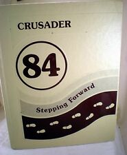 Valley Christian High School 1984 Crusader Yearbook, Cerritos CA