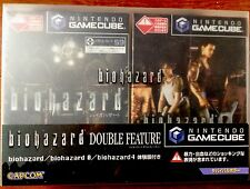 BIOHAZARD DOUBLE FEATURE GAMECUBE NINTENDO (JP) NTSC BRAND NEW SEALED