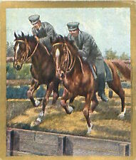N°114 World War German Riders jumping course Reichswehr Germany WWI 30s CHROMO