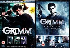 GRIMM COMPLETE SEASON 1 2 3 4 BOXSET 24 DISCS R4 NEW & SEALED! 1-4