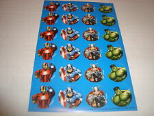 Avengers Marvel Small Stickers / Great For Borders/ New