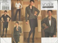 out-of-print:  Vogue V2989  pattern, Schnittmuster, sizes 14 up to 20, Gr. 40-46