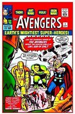 """MARVEL AVENGERS #1  COMIC BOOK ( 2.5"""" X 3.5"""" FRIDGE MAGNET ) DECOR"""