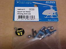 ALIGN HELICOPTER PART - H45141T = METAL MIXING ARM (U) : TREX 450 SPORT V2 (NEW)