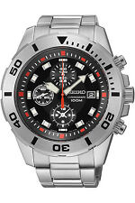 SEIKO SNDD95P1,Men's CHRONOGRAPH,STAINLESS STEEL,100m WR,SNDD95