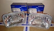 Fiat 126 128 Genuine WESEM Pair of LHD Headlight Headlights