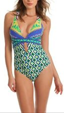 NWT  $148  Sz 8 TRINA TURK SHANGRI LA ONE PIECE SWIMSUIT