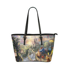 Fashion Handbag Beauty And The Beast Women's Tote Shoulder Bag Large Capacity