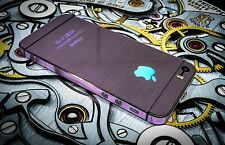 METAL EFFECT NEW VINYL DECAL WRAP STICKER SKIN COVER for iPHONE 4 4S