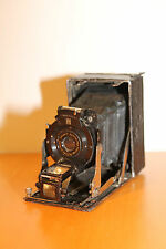 Vintage Ernemann Detectiv Aplanat Heag XV Plate Camera w 1=6.8 and F=80mm Lens