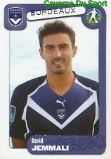 066 DAVID JEMMALI TUNISIA GIRONDINS BORDEAUX STICKER FOOT 2005 PANINI