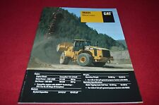 Caterpillar 966H Wheel Loader Dealer's Brochure DCPA6 ver