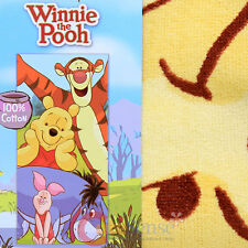 Winnie the Pooh Beach Towel Tigger Piglet Eeyore Disney Cotton Bath Towel 28x58