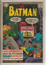 DC Comics Batman #183 August 1966 2nd Poison Ivy F+
