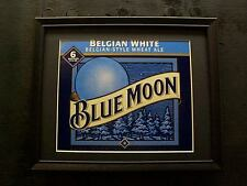 BLUE MOON BELGIUM WHITE  BEER SIGN   #117