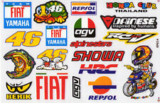 46 Valentino Rossi The doctor Moto GP Racing stickers/decals. 1 sheet (st2)