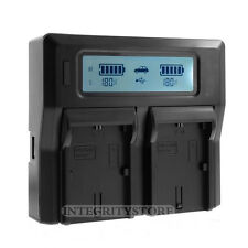 LCD Dual Battery Charger for Sony NP-FV100 FV70 FV50 FV30 FH100 FH70 FH50 FP70