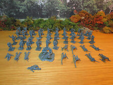 45FP LOT OF 52 PIECE 1/72 PLASTIC GERMAN WWI INFANTRY HELLER AIRFIX ZVEZDA (4)