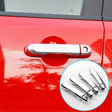 FIT FOR JEEP RENEGADE CHROME SIDE DOOR HANDLE COVER TRIM BEZEL MOLDING OVERLAY
