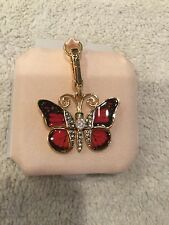 BRAND NEW Juicy Couture jeweled butterfly charm