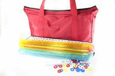 American Mahjong Set in Waterproof Bag 4 Color Pushers / Racks Western Mahjongg