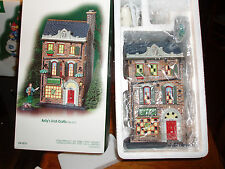DEPT 56 CHRISTMAS IN THE CITY KELLY'S IRISH CRAFTS *Store Display - Read*