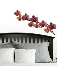 Orchid Flowers Wall Decal - Deco Art Sticker Mural
