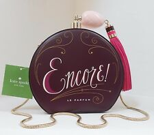 NWT Kate Spade On Pointe Round Perfume Bottle Clutch Sholulder Bag New $348