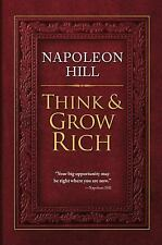 Think and Grow Rich by Napoleon Hill (2012, Hardcover) New