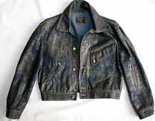 VIVIENNE WESTWOOD ANGLOMANIA UNISEX DENIM JACKET SIZE M MADE IN ITALY OrgPr.$435