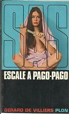 GERARD DE VILLIERS ESCALE A PAGO-PAGO