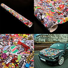 "Graffiti JDM Bomb Car Wrap Phone Guitar 20""x30"" Decal Waterproof Vinyl Sticker"