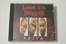LORDS OF THE UNDERGROUND - FAITH / NEVA FADED US-CD 1995 (Marley Marl) RARE