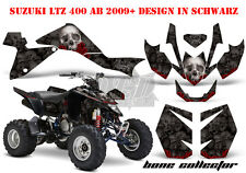 Amr racing decoración Graphic kit ATV suzuki ltz & Kawasaki KFX bone collector B