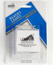 Logan Mat Cutter Blades 100-Pack 270-100
