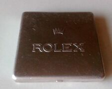 Vintage ROLEX Aluminium Whatch Parts Storage Container Tin Box