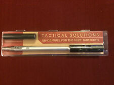 "Tactical Solutions Ruger 10/22 Takedown SB-X Barrel - Silver ½""-28  TSBX TD-11"